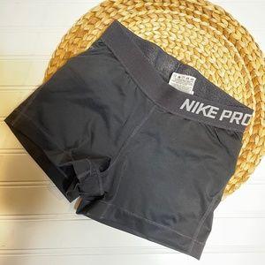 Nike Pro Womens Dri- Fit Shorts 3 inch Black